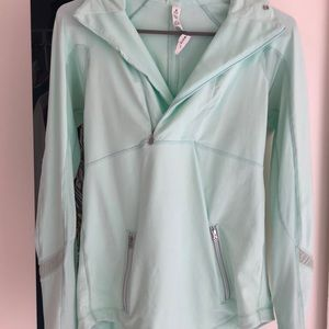 Mint green lululemon jacket